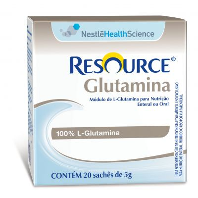 Resource Glutamina Display 20X5g