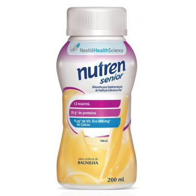 Nutren Senior Baunilha 200ml